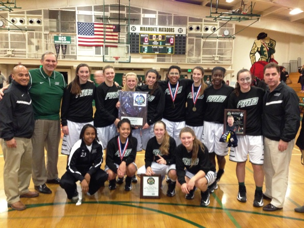 Miramonte of Orinda after winning the Diamond Division championship at the West Coast Jamboree. Photo By Harold Abend