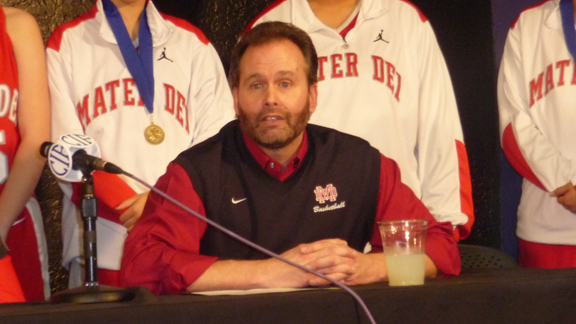 Mater Dei girls basketball coach Kevin Kiernan has another powerhouse team for the 2012-13 season.