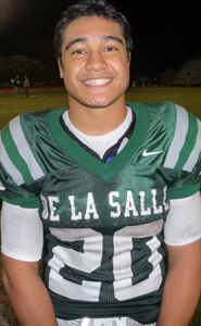 With 33 touchdowns and more than 2,100 yards, Tiapepe Vitale put his name among some of the best running backs in De La Salle history, including Maurice Jones-Drew, D.J. Williams, Patrick Walsh, Atari Callen, Lucas Dunne, Terron Ward and Saleem Muhammad.