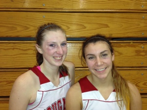 Mackenzie Cast and Natalie Romeo both played well for the Cougars at the West Coast Jamboree.