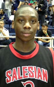 """Mario Dunn has been called the """"heart and soul"""" of Salesian's state-ranked team."""