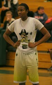 Briteesha Solomon of San Diego Mission Bay will play next at San Diego State. Photo: Willie Eashman.