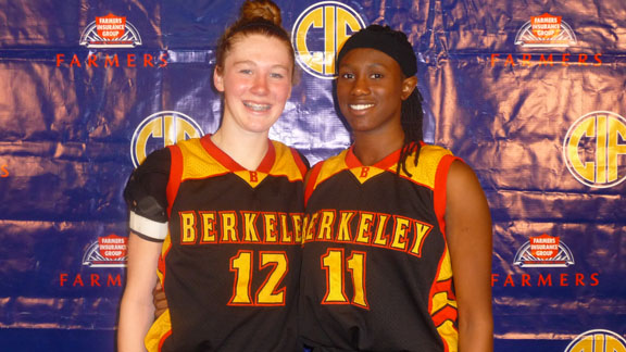 Rachel Howard and Desire Finnie played starring roles in Berkeley's emergence in the CIF NorCal Division I playoffs. When those two are on the floor, playing well and don't have fouls, their team is hard to beat.