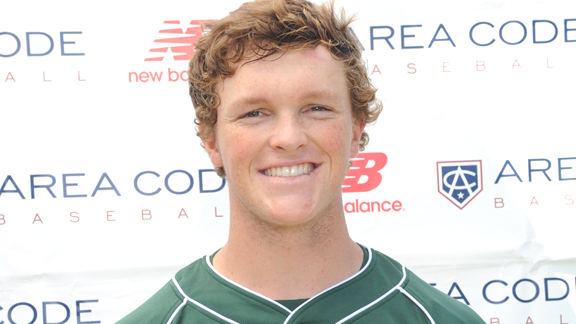 One of the top players for new No. 1 St. Francis of Mountain View is outfielder Kort Peterson.