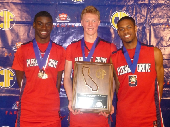A strong senior class -- including tri-captains Malik Thames, Colfax Nordquist and Matthew Hayes -- has been instrumental in getting Pleasant Grove of Elk Grove into this year's CIF Division I state final.