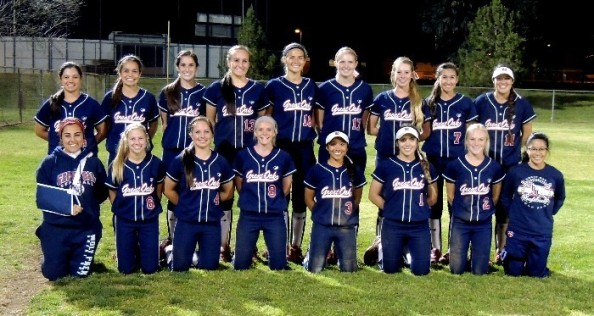 The Great Oak of Temecula softball team has been one of the state's best so far this season, but will soon be ending an unusually long layoff between games. Photo courtesy Great Oak High School.