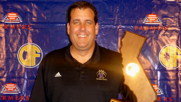 Mike Haupt was named San Diego Section Player of the Year in 1984 and this past season won his first CIF state title in his 17th season as St. Augustine's head coach. Photo: Mark Tennis