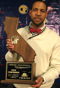 Reggie Morris Jr. honored for second time in four seasons in different divisions.